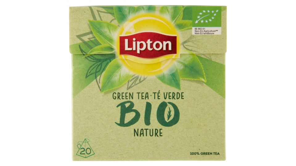 Lipton Bio Green Nature 20 Bustine a piramide